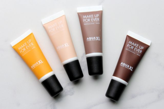 Make Up For Ever Aqua XL color paint Review and swatches