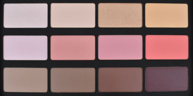 Make Up For Ever Blush Palette Review and Swatches