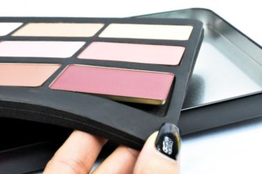 Make Up For Ever Lustrous Blush Palette Review Swatches