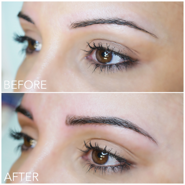 Best Microblading Vancouver Before and After photos